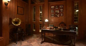 Churchill cigar room 2