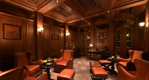 Churchill cigar room